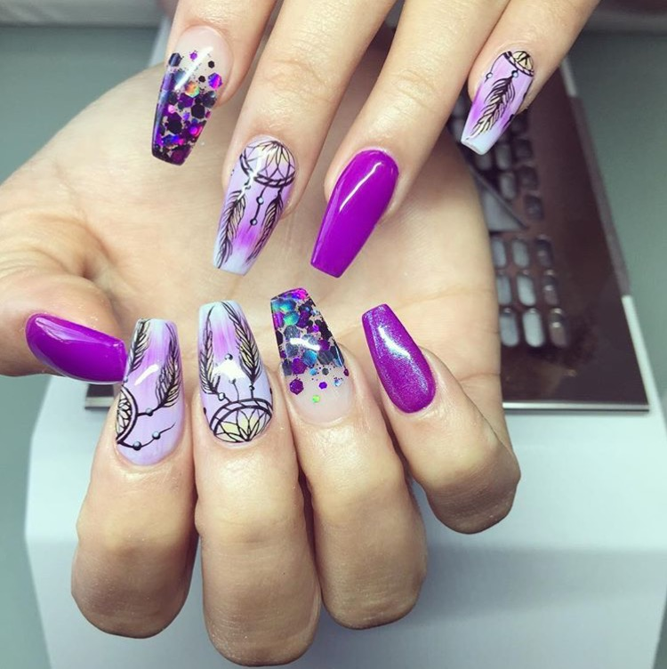 The Best Christmas Nail Art From Instagram: BEST NAIL ART ON INSTAGRAM MAR 23-29