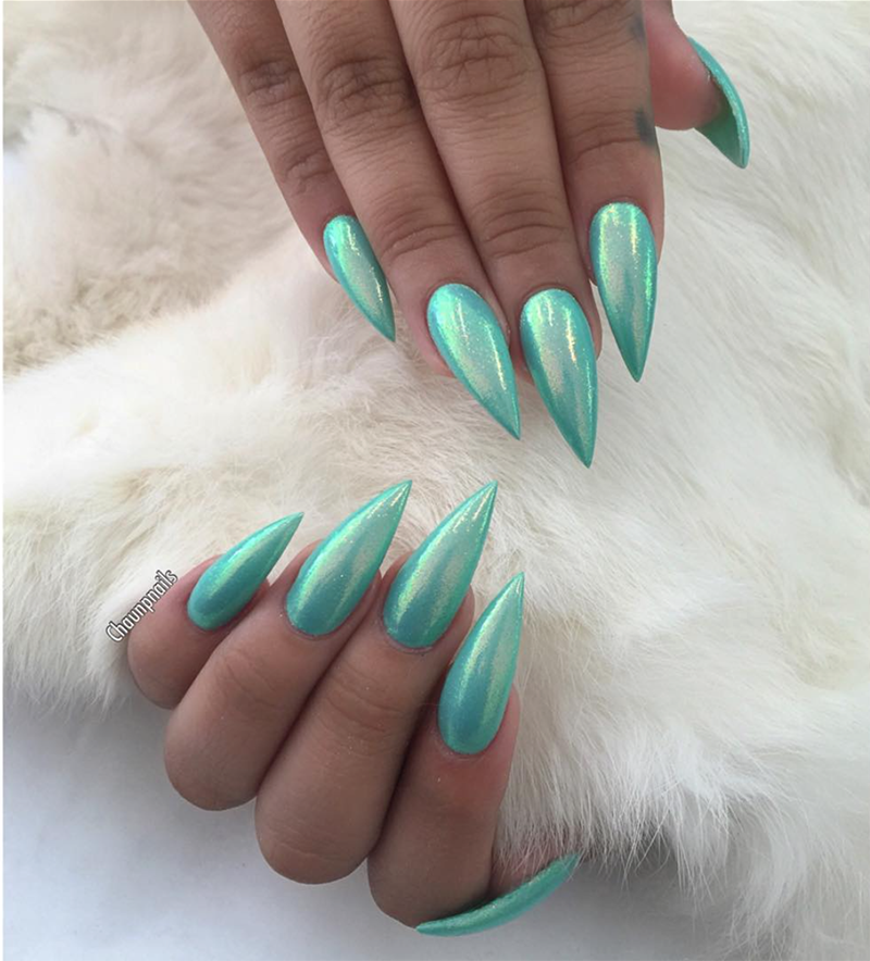 THE ULTIMATE GUIDE TO MERMAID NAILS - The Nailscape