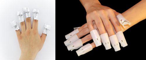 Acrylic Gel Shellac Polish Nails