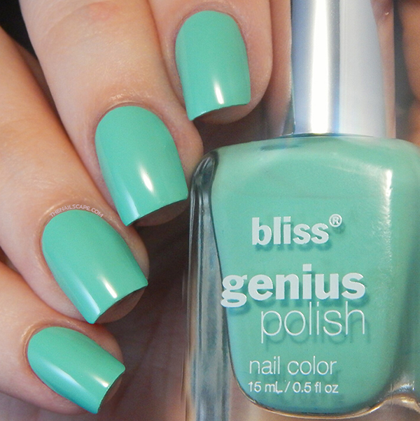 SWATCHSCAPE: BLISS GENIUS COLOR - The Nailscape