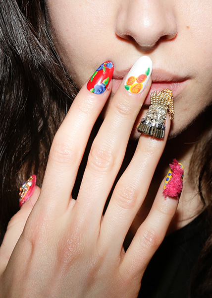 fashion week nail trends